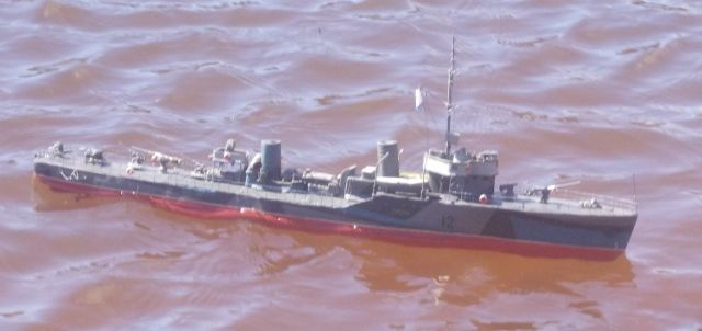 Корабль из пластилина фото